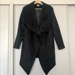 H&M Divided Black Coat